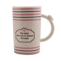 House Care Ceramic Mug Long 350 Ml