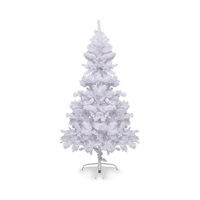 Carrefour White Christmas Tree Irrides N8 150CM