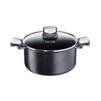 Tefal Expertise Stewpot Black WIth Lid 24CM