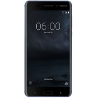 Nokia 6 Dual Sim 4G 32GB Tempered Blue