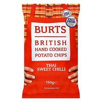Burts British Hand Cooked Potato Chips Thai Sweet Chili 150g