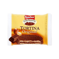 Loacker Tortina Chocolate Original Hazelnut 21GR