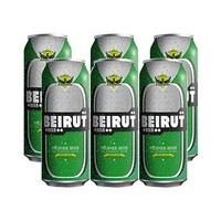 Beirut Beer Can 50CL X6