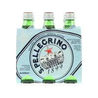 San Pellegrino Carbonated Natural Mineral Water 250mlx6