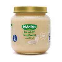 Bledina Bledine Rice & Milk Powder Bio From 6 Months 125GR