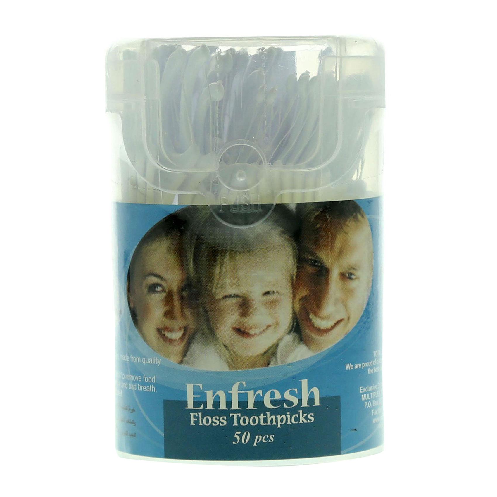 ENFRESH FLOSS&TOTHPICK X50