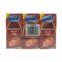 Almarai Strawberry flavored Milk 200mlx6