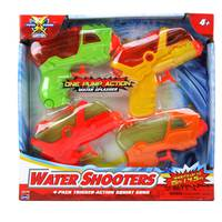 Lanard Water Gun Pack of 4 units