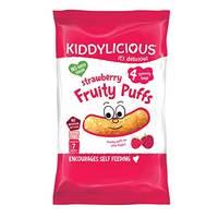 Kiddylicious Strawberry Fruity Puffs 40g