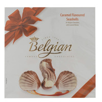 Belgian Caramel Flavoured Seashells Chocolate 195g