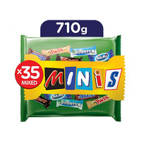 Best Of Minis Mixed Chocolate Bag 710GR