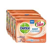 Dettol Soap Deep Cleanse Family Pack 165G X3 Pieces