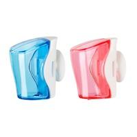 Flipper - 2 In 1 Blue & Pink Toothbrush Holder - Flr-Bs-Bl-Pn