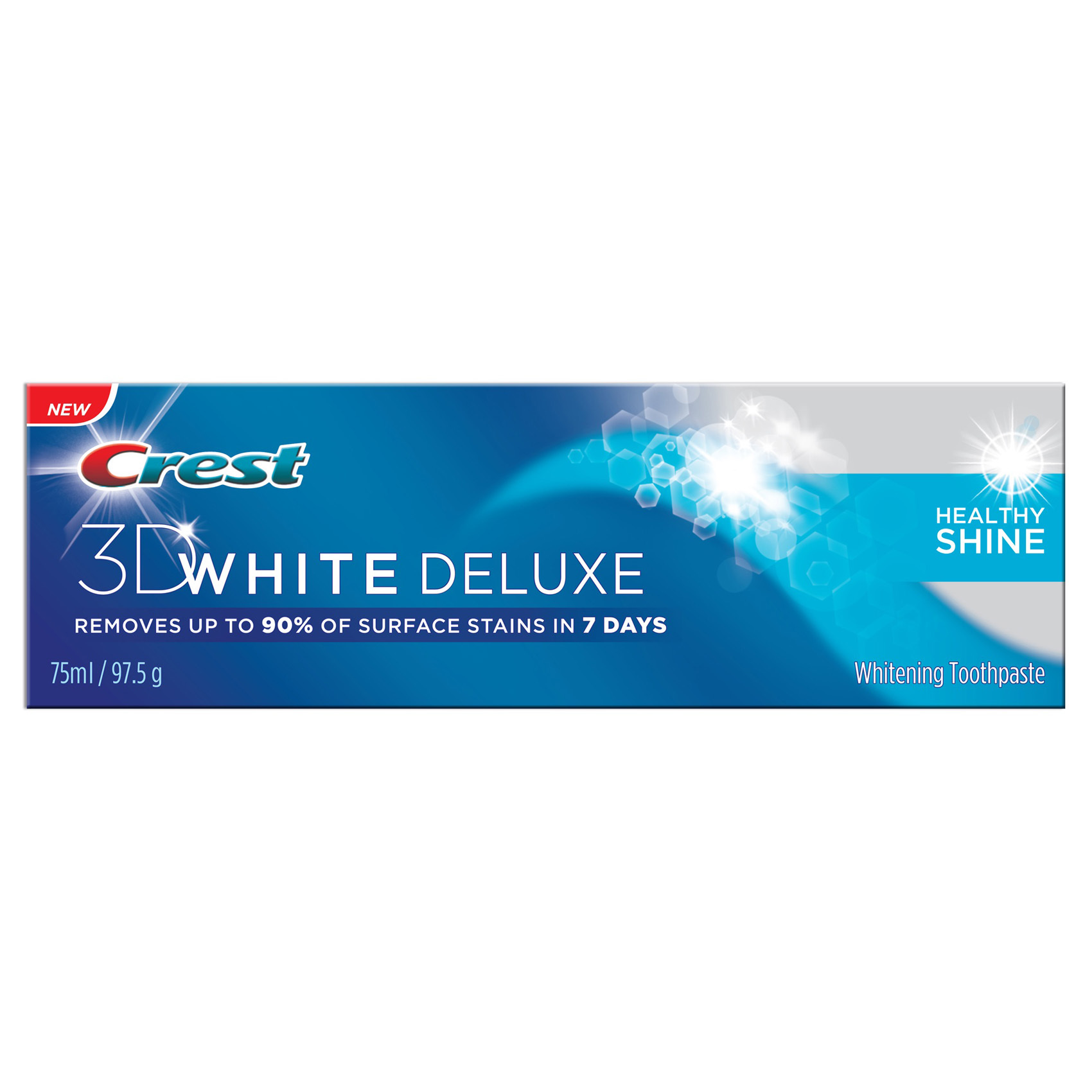 CREST T/P 3D WHITE DELUXE 75ML