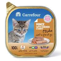 Carrefour Kitten Mince With Chicken & Carrots 100g