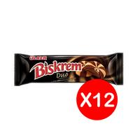 بسكويت بسكريم ديو بالشوكولاتة من اولكر - 23 جم عبوة من 12