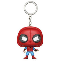 Funko POP Keychain Spider-Man Homecoming Spider-Man Homemade Suit Action Figure