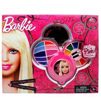 Barbie 3Decks Round Cosmetic Case