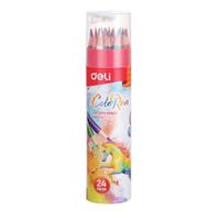 Deli Colored Pencil 24 In Tube