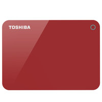 Toshiba Hard Disk 1TB Canvio Advance Red