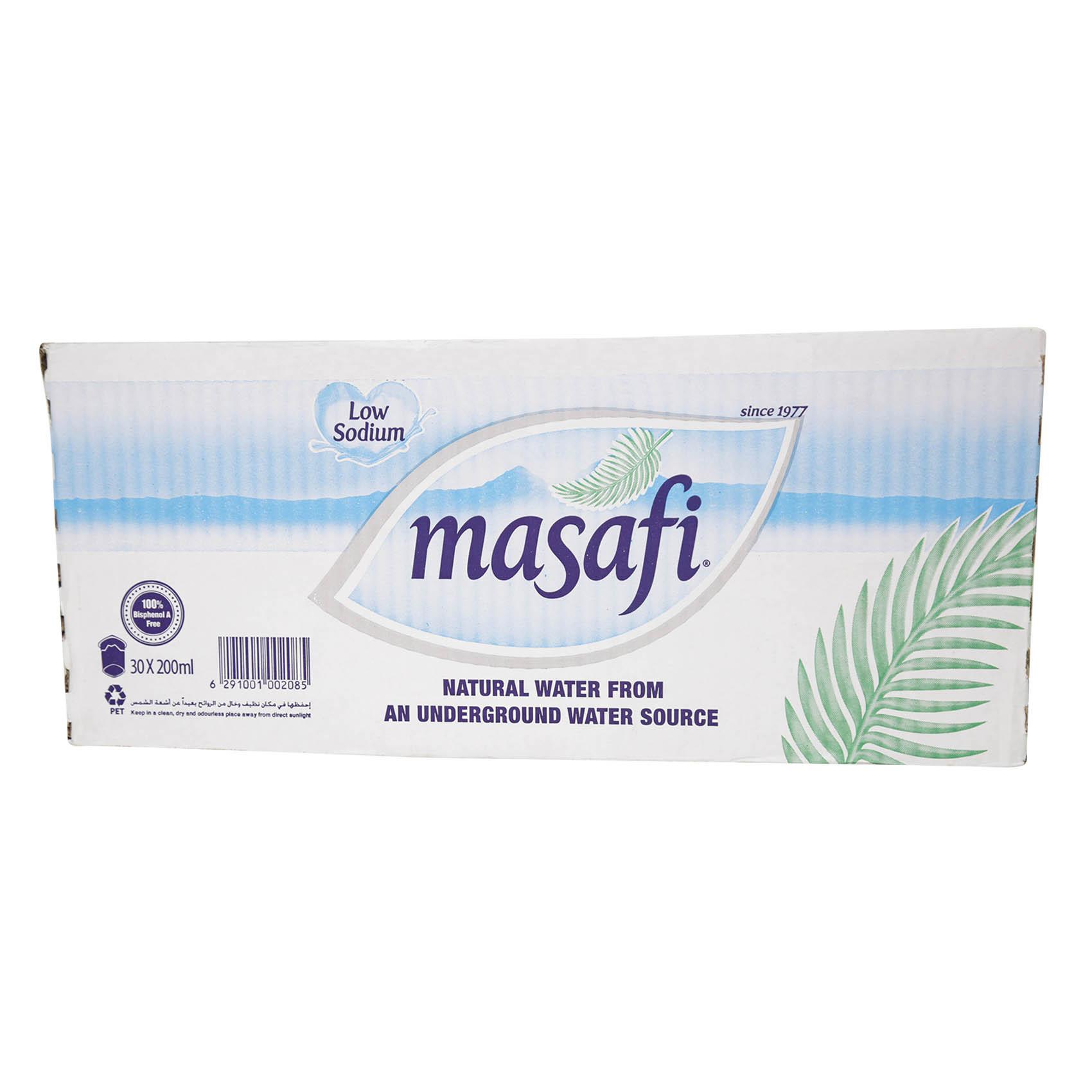 MASAFI MINERAL WATER CUP 200MLX30