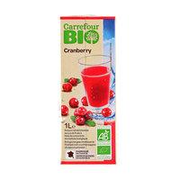 Carrefour Bio Organic Juice Cranberry 1L