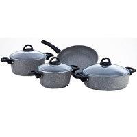 Cooking Set Granite Grey 7Pcs