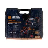 Mega Cordless Tools 18V 108 Pieces