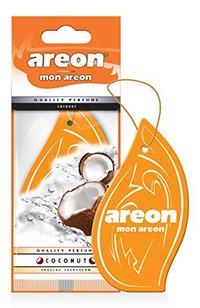 Areon Air Freshener Mon Coconut Cardbaord