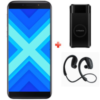Xtouch Smartphone X 16GB Dual SIM 4G Black + Power Bank 8000mAh + Headset