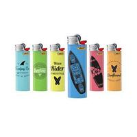 Bic J8 Lighter Bicolor Tray 50