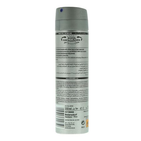 Nivea-Men-Anti-Perspirant-Deo-Spray-Silver-Protect-Anti-Bacterial-150ml