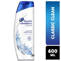 Head & Shoulders Classic Clean Anti-Dandruff Shampoo 600 ml