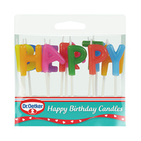 Dr. Oetker happy Birthday Candles 19GR