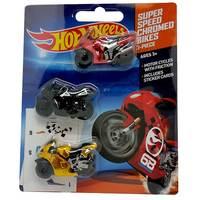 Hot Whel Metalic Motorbike(Set Of3)
