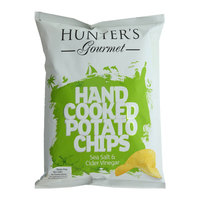 Hunter's Gourmet Hand Cooked Potato Chips Sea Salt & Cider Vinegar 125g
