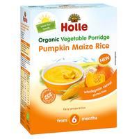 Holle Organic Vegetable Porridge Pumpkin Maize Rice 175g