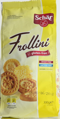 Schar Frollini Honey Biscuits 300g