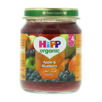 Hipp Organic Apple & Blueberry 125g