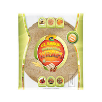 El Sabor Wholemeal Wraps 360g
