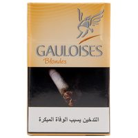 Gauloises Blondes Yellow Cigarettes 20's