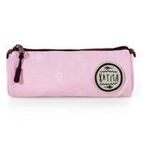 Ambar Katita Round Pencil Case Pink