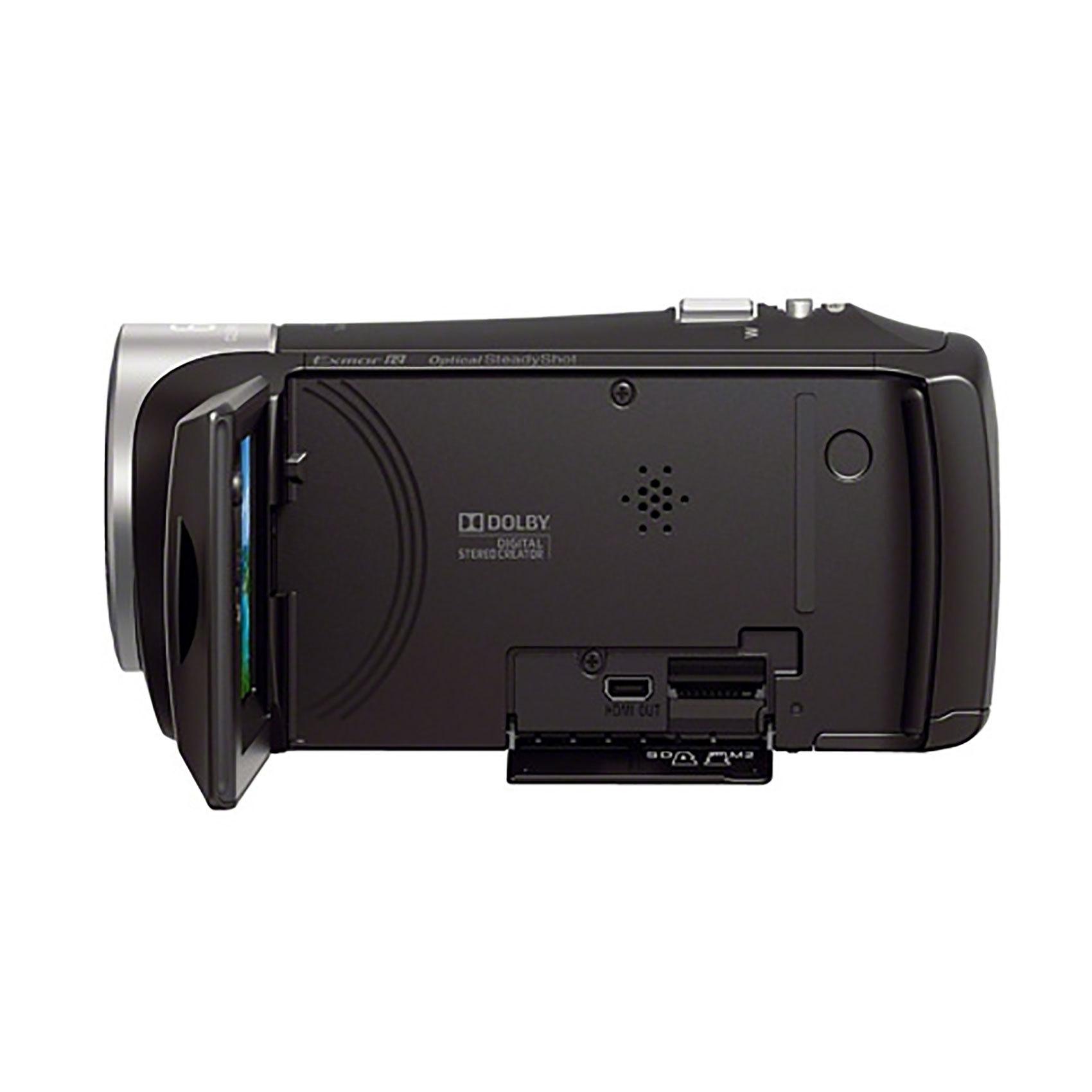 SONY CAM CX405+8GB + CASE