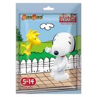 Banbao Peanuts – Set of 12 pieces Tobees Mini Figure Building Toys in Foil Bag / Randomly Per Piece