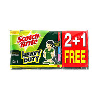 Scotch Brite Heavy Duty Lam Scrub  3 2 + 2 Free