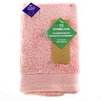 TEX Hand Towel x2 30x50 Light Pink