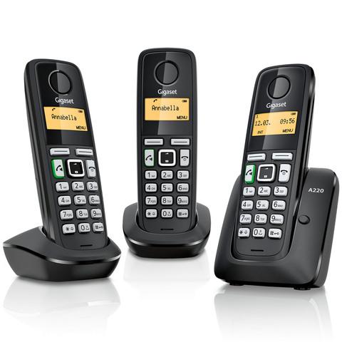 Gigaset-Cordless-Phone-A220-Trio