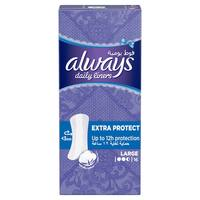 Always Daily Liners Extra Protect 16 Count