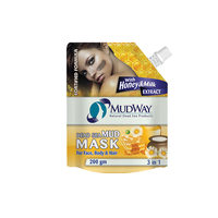 Mudway Mud Mask Tree In One With Honey And Milk 200 Gram