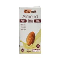 Eco Mil Almond Milk Vanilla Sugar Free 1L